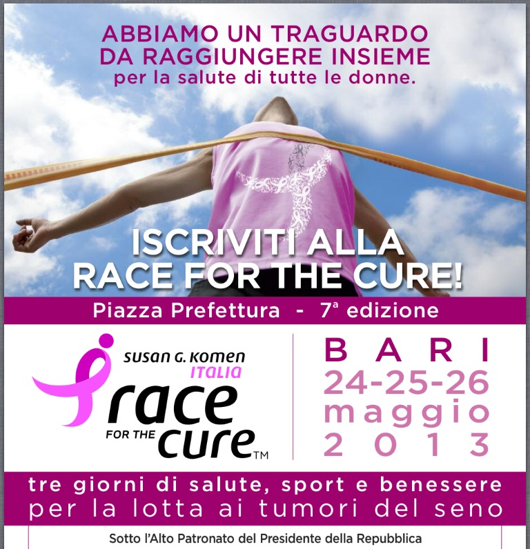 race for the cure manifesto